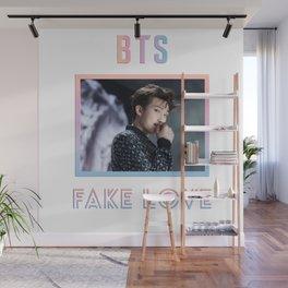 BTS Fake Love Design - RM Wall Mural