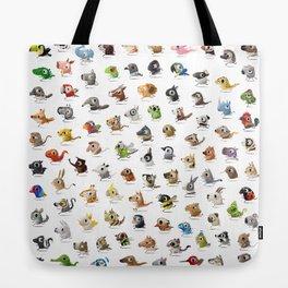 Marathon Animals Tote Bag