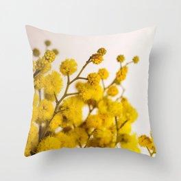 Flower Photography by Anastasiia Ostapovych Throw Pillow