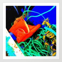 Rubber Glove Seven Art Print
