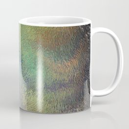 Wavy Abstract Colorful Frosted Glass Coffee Mug