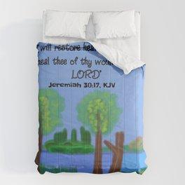 Jeremiah 30:17, KJV Comforters