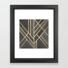 Art Deco Geometry 1 Framed Art Print