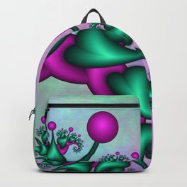 Catwalk, Funny Fantasy Fractal Backpack