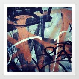 Graffiti Abstraction 1 Art Print