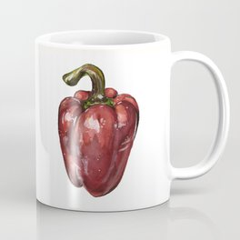 Red Bell Pepper Coffee Mug