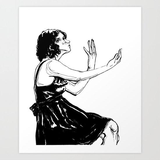 Perceive Art Print