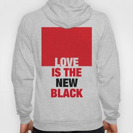 LOVE is the new black IV – Plain Hoody