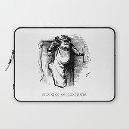 Stocking of Contents - Thomas Nast Laptop Sleeve