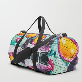 Graffiti Wall Women Duffle Bag