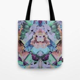 Crystal Collage Tote Bag