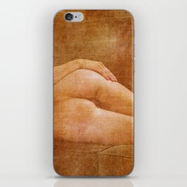 Julie Darling 0853 Rustic iPhone Skin