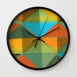 Harlequin 1 Wall Clock