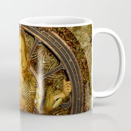 Wonderful steampunk lady Coffee Mug
