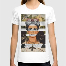 "Frida Kahlo ""Self Portrait with Thorn Necklace"" & Joan Crawford T-shirt"