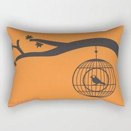 tweet at day Rectangular Pillow