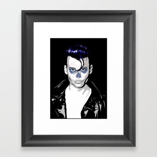 Day of the Depp Framed Art Print