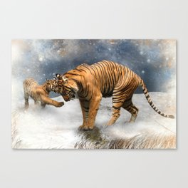 Tigers Canvas Print