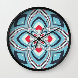 Spiral Rose Pattern B 3/4 Wall Clock