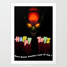 Happy Toyz Art Print
