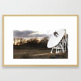 Bam Margera - Satellite Sunset Framed Art Print