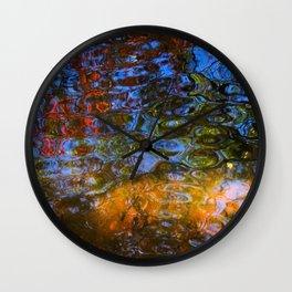 Dappled Water in a Georgia Park Wall Clock