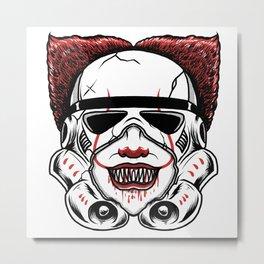 Clown Trooper Metal Print