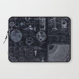 Astronomy Blueprint Diagrams Laptop Sleeve