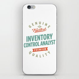 Inventory Control Analyst iPhone Skin