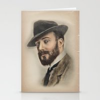 gentleman Stationery Cards featuring Gentleman by Rachel Zink