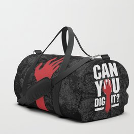 Can You Dig It? Funny Zombie Halloween Duffle Bag