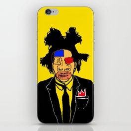 Jean Michelle Basquiat iPhone Skin