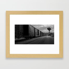 Nuke Train Framed Art Print