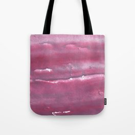 Indian red colorful watercolor Tote Bag