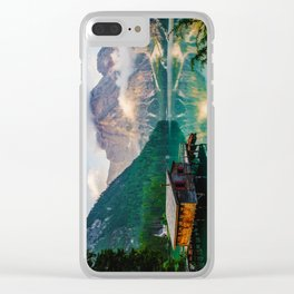 The Place To Be III Clear iPhone Case