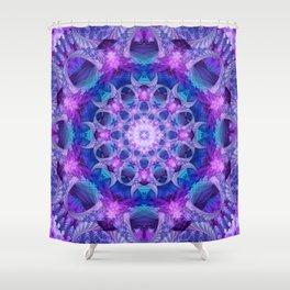 Angelic Gateway Mandala Shower Curtain