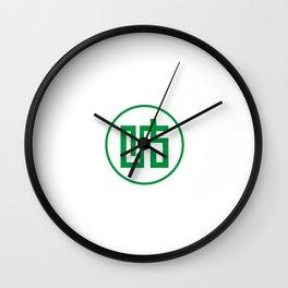 gifu region flag japan prefecture Wall Clock