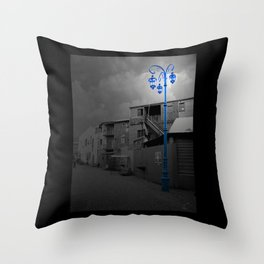 La Bocca Throw Pillow