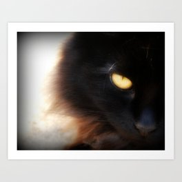 Eye of Ink Art Print