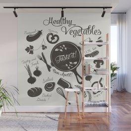Health Vegetables Wall Mural