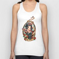kiss Tank Tops featuring Waiting For Loves True Kiss by Tim Shumate