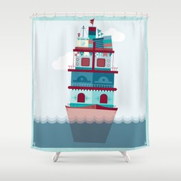 Halifax  Shower Curtain