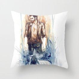 Derek Hale Throw Pillow