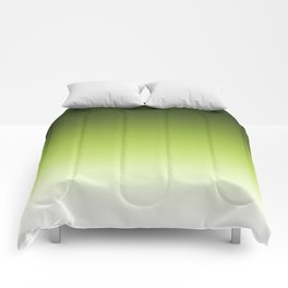 Olive ,green , Ombre Comforters