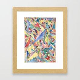 Perfection Isn't Necessary Framed Art Print