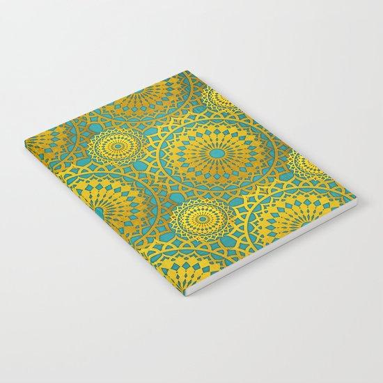 Golden Mandala 2 Notebook