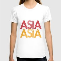 asia T-shirts featuring Asia for Asia by Park is Park