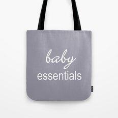 Baby Essentials Pantone 2016-Lilac Gray Tote Bag