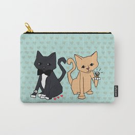 Rich Cats Carry-All Pouch
