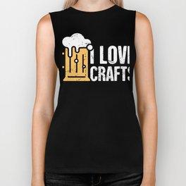 I Love Crafts | Craft Beer & Homebrew Biker Tank